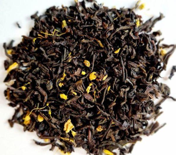 spiced orange and Horipito Blend Black Tea